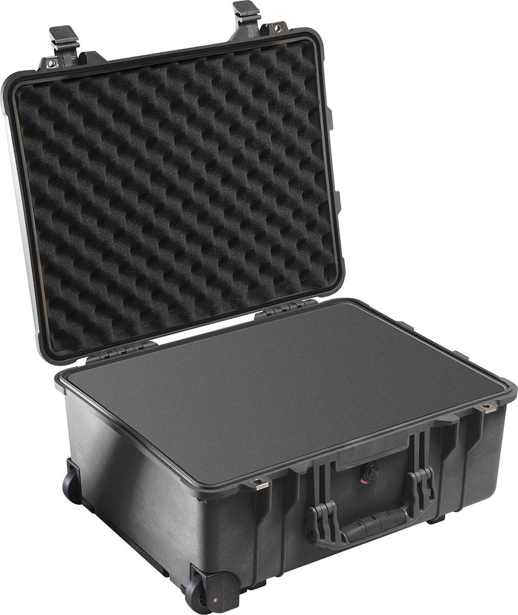 pelican 1560 black dustproof foam case