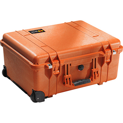 pelican 1560 orange camera case