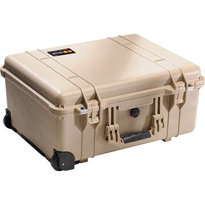 pelican 1560 tan crushproof case