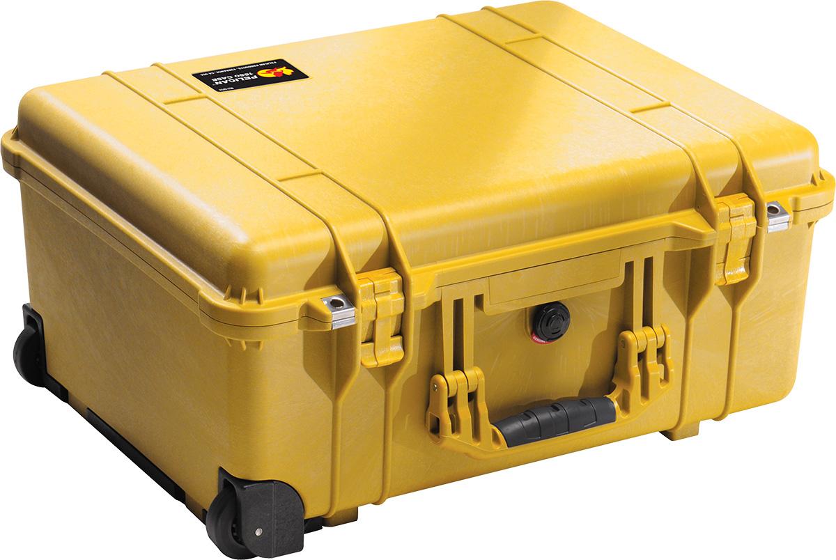pelican 1560 yellow watertight case