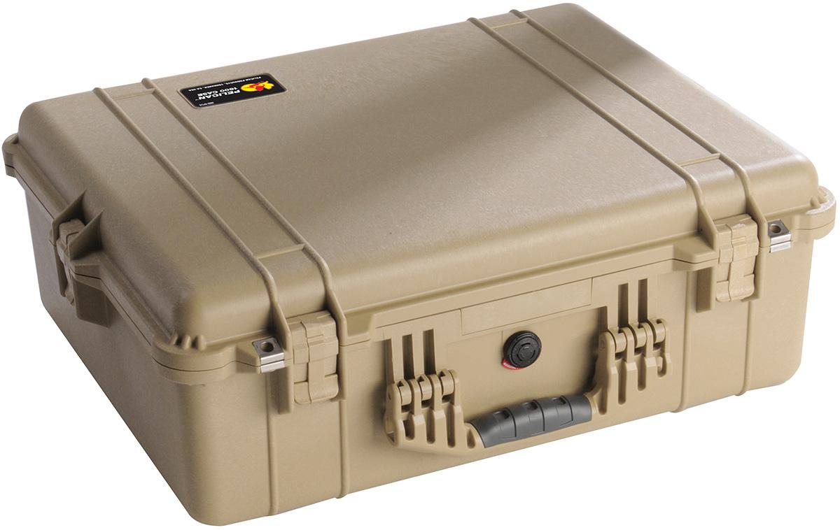 pelican 1600 watertight equipment hard case