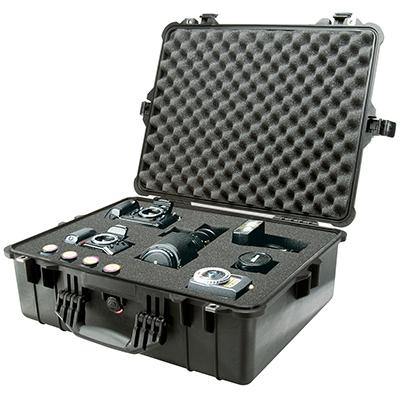 pelican strong waterproof equipment case