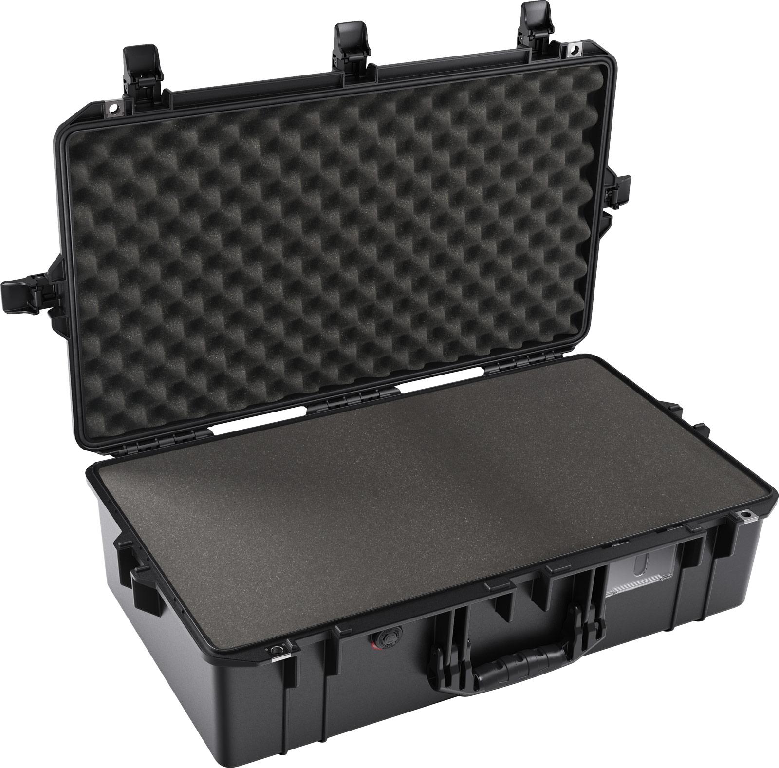 pelican 1605 air black foam camera case