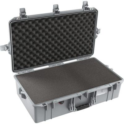 pelican 1605 air silver foam lightweight case