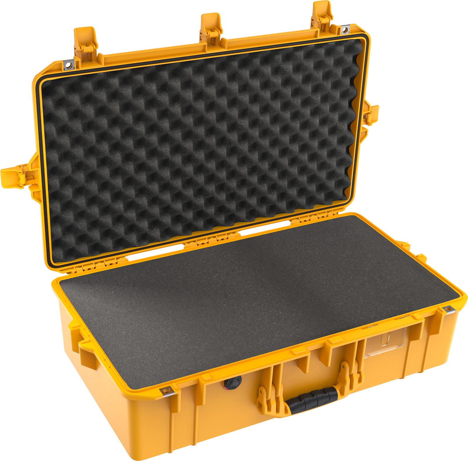pelican 1605 air yellow foam firearm case