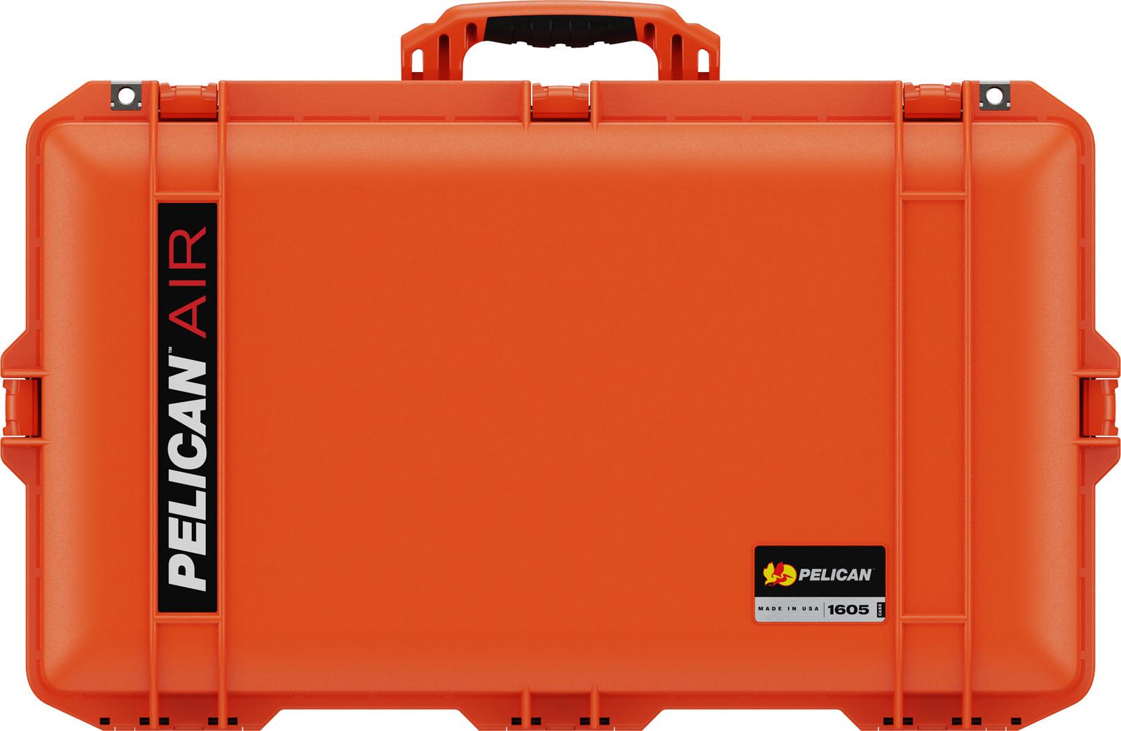 pelican orange 1605 camera dslr case