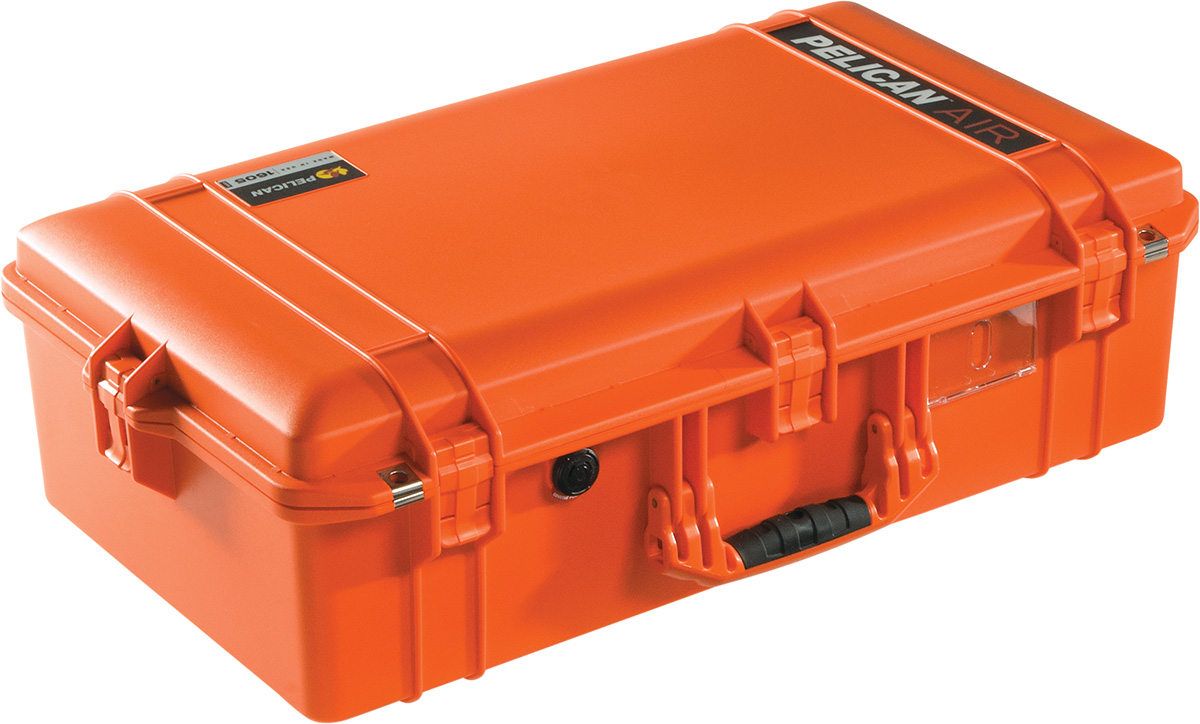 pelican orange air cases 1605 case