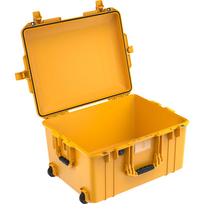 pelican 1607 air deep yellow crushproof case