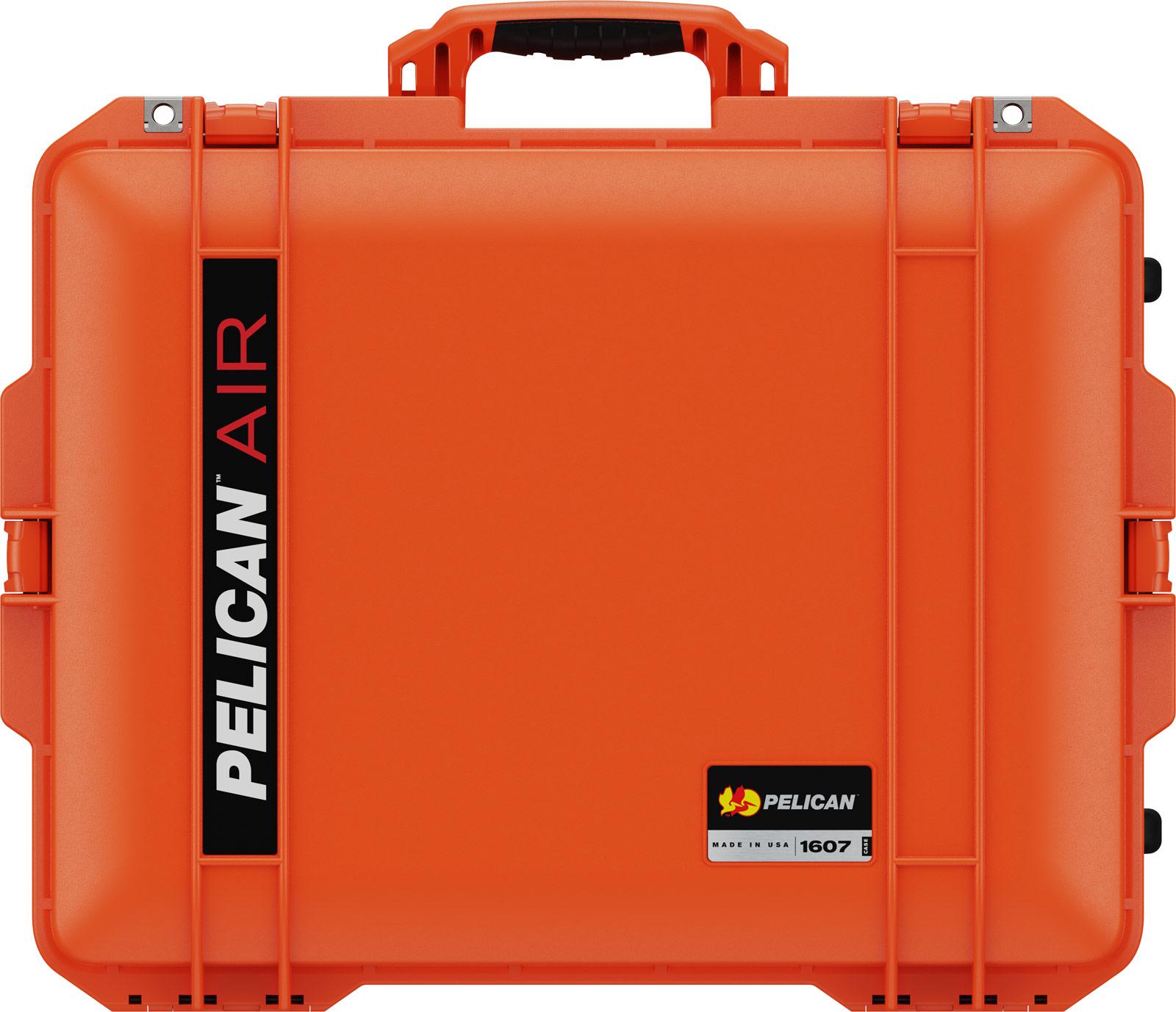 pelican 1607 orange deep protective case