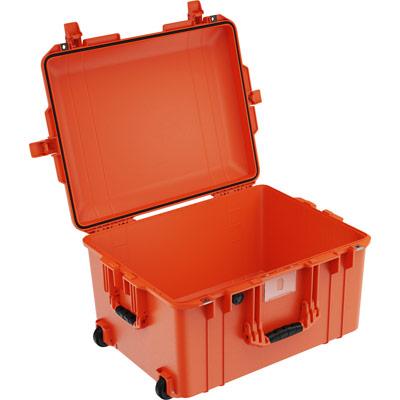pelican 1607 orange no foam watertight case