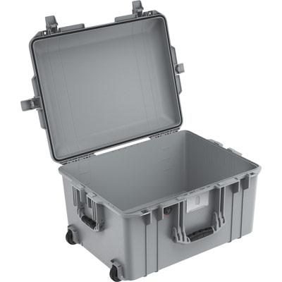 pelican 1607 silver no foam air case