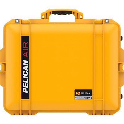 pelican yellow 1607 air crushproof case