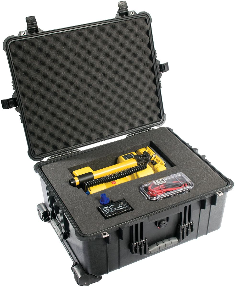 pelican rolling travel police equipment case