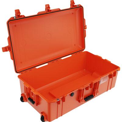 pelican 1615 orange travel rolling case
