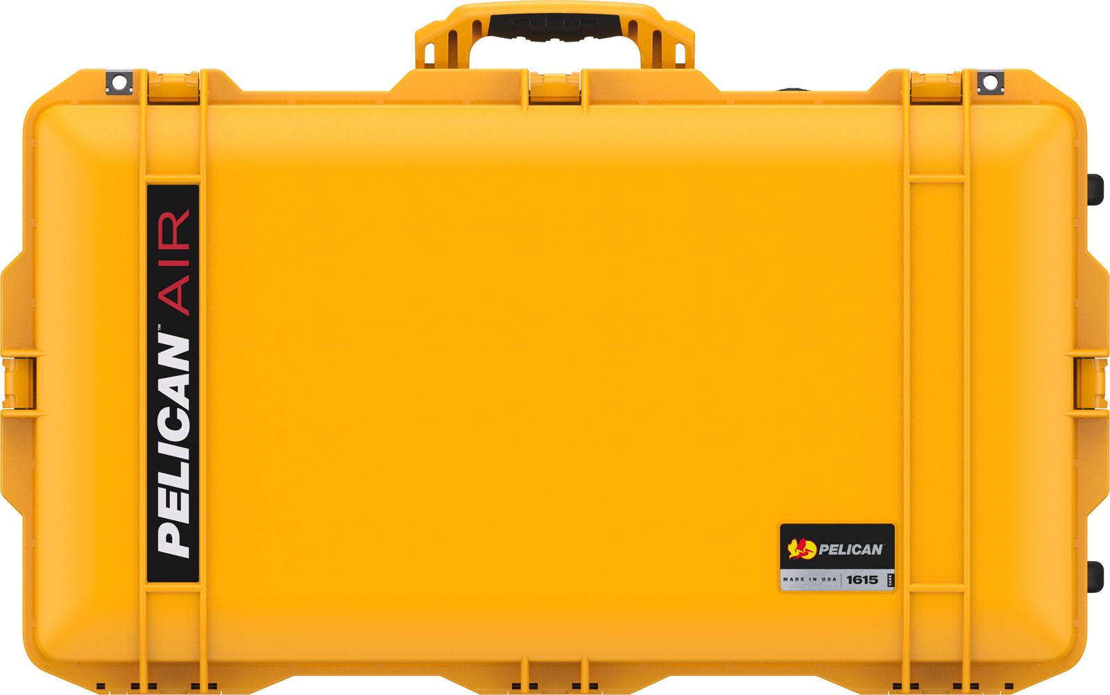 pelican 1615 yellow air case hard case