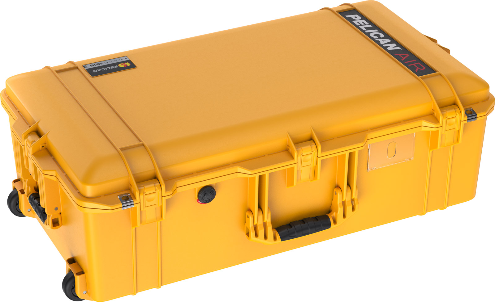 pelican yellow travel cases 1615 air case