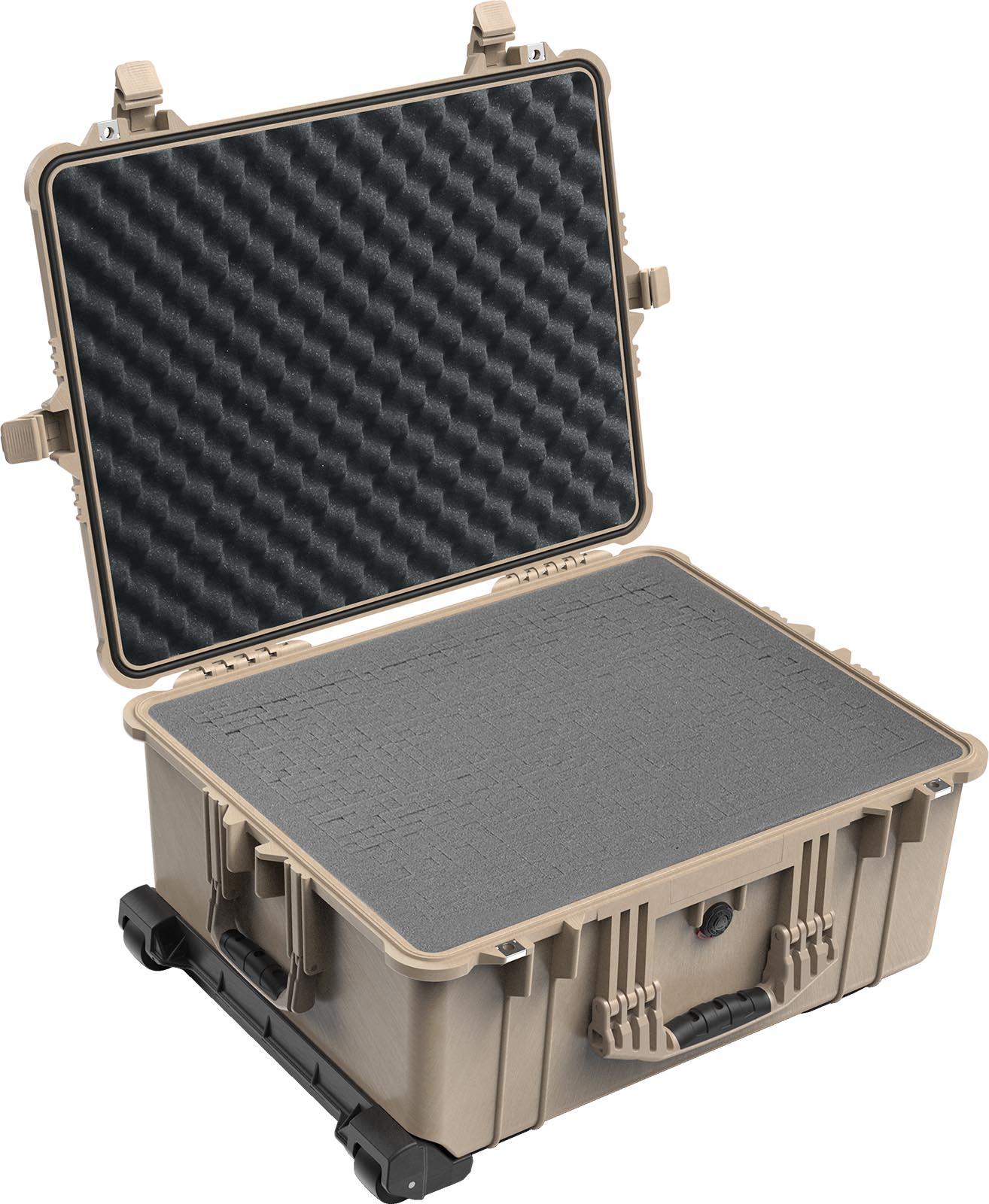 pelican 1620 rolling foam luggage case