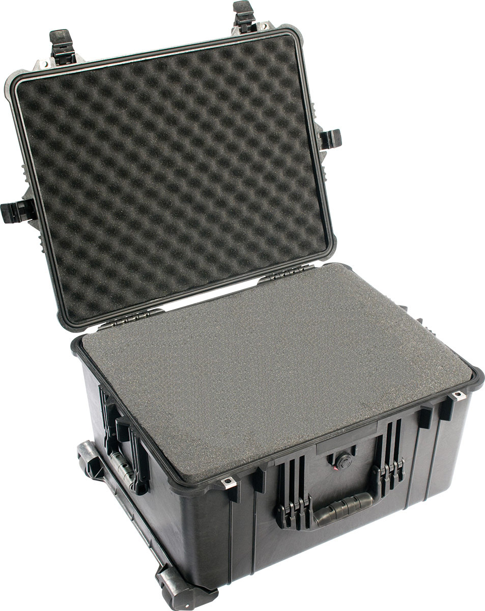 pelican padded equipment rolling case