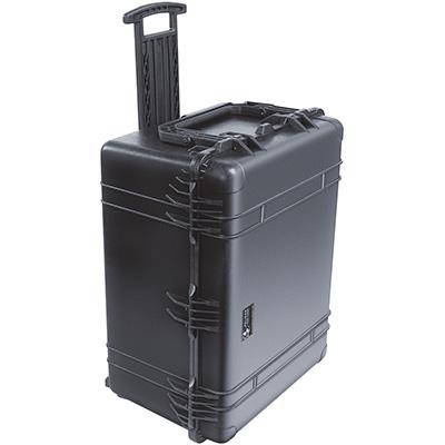 pelican strongest watertight rolling weapon case