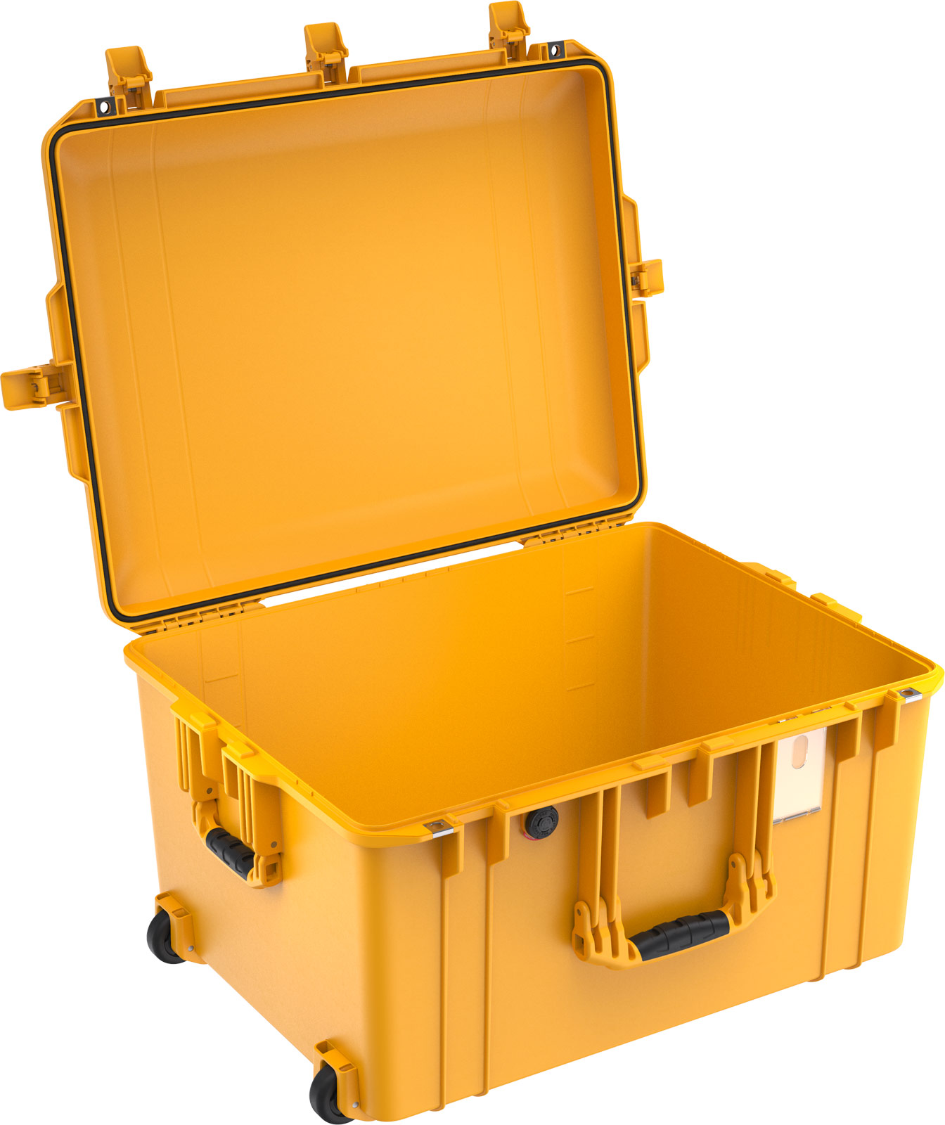 pelican 1637 air camera carry hard case yellow