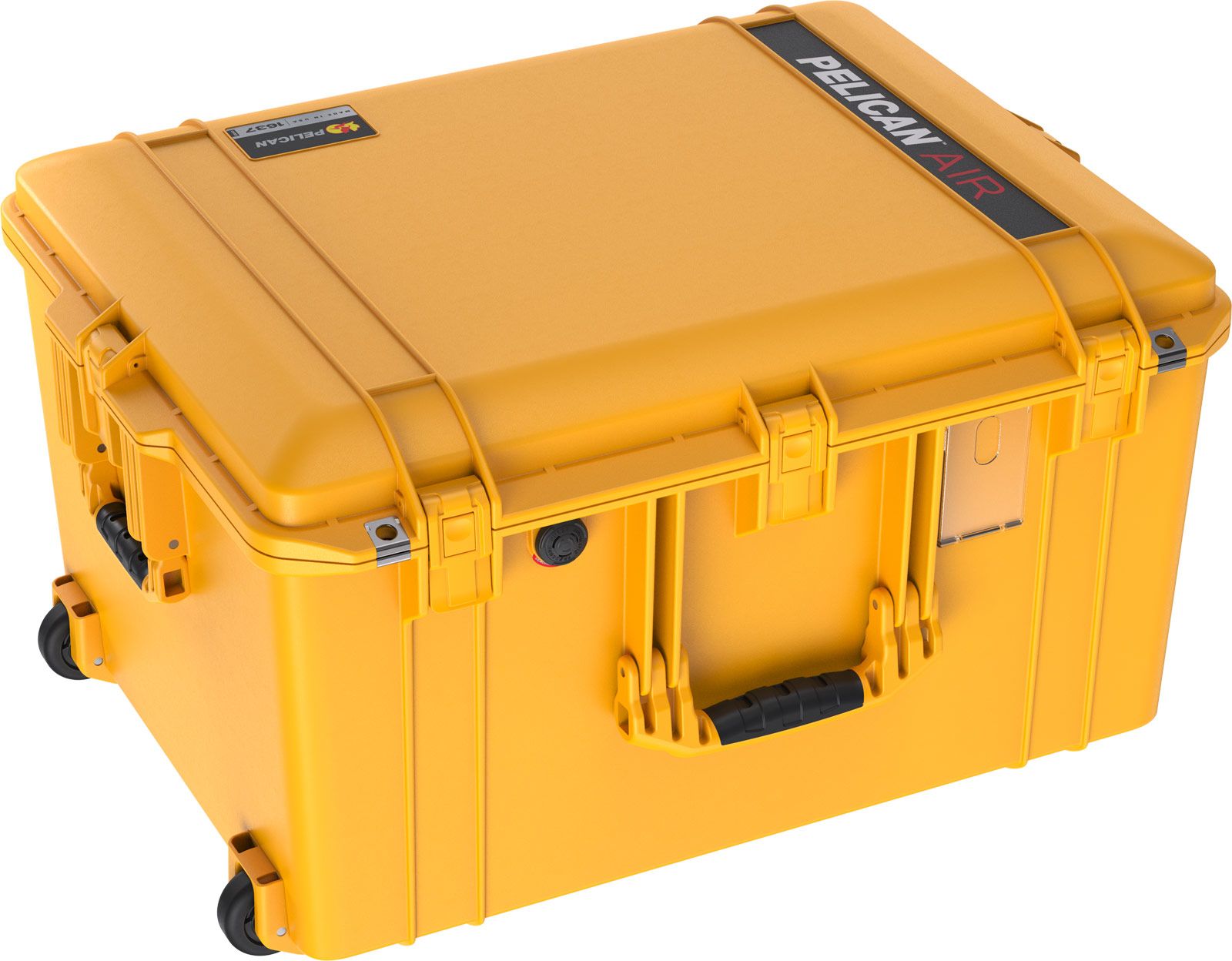 pelican 1637 case yellow air cases