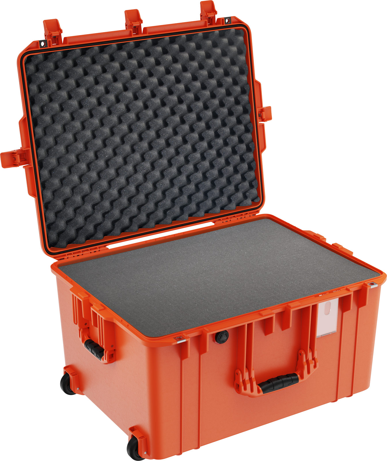 pelican 1637 foam airtight tough orange case