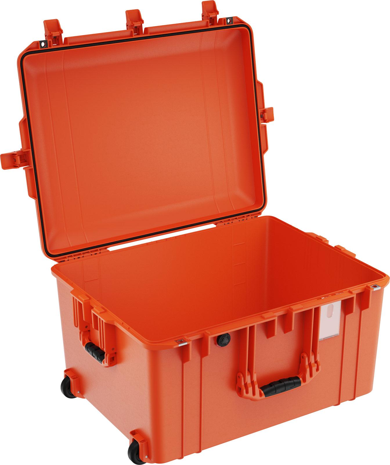 pelican 1637 orange no foam airline case