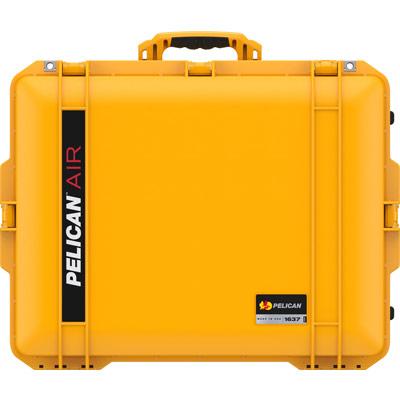 pelican 1637 yellow air watertight audio case