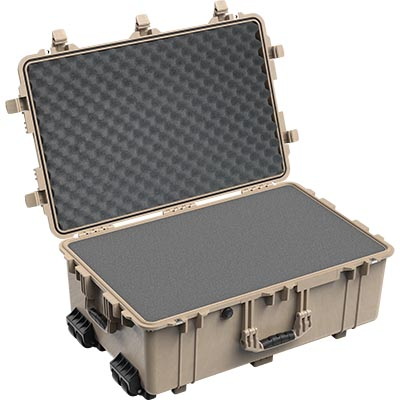 pelican 1650 photography lens foam case