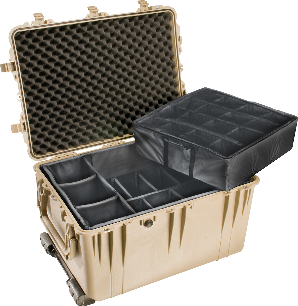 pelican 1660 1664 padded rolling military case