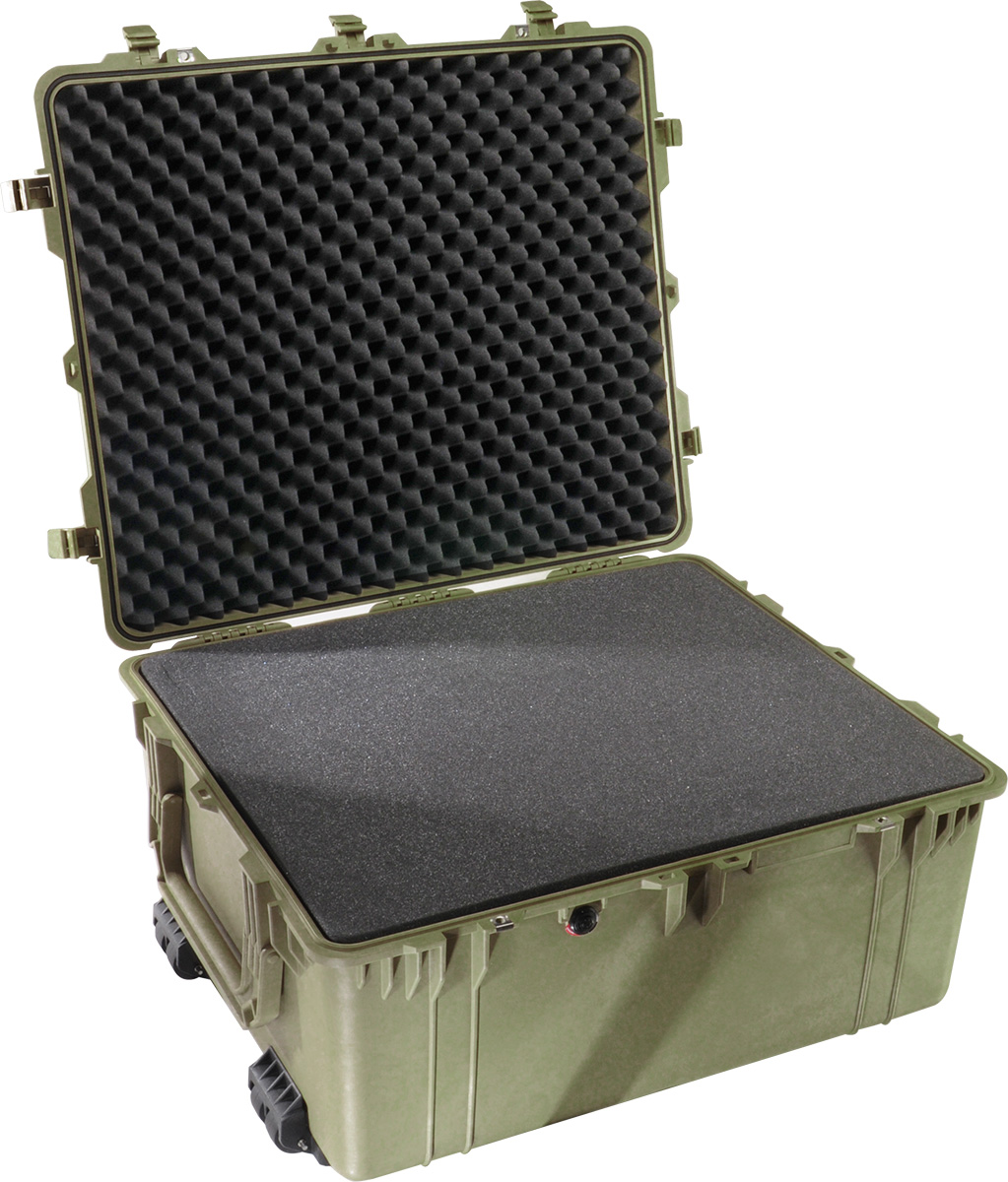 pelican 1690 green foam protector case