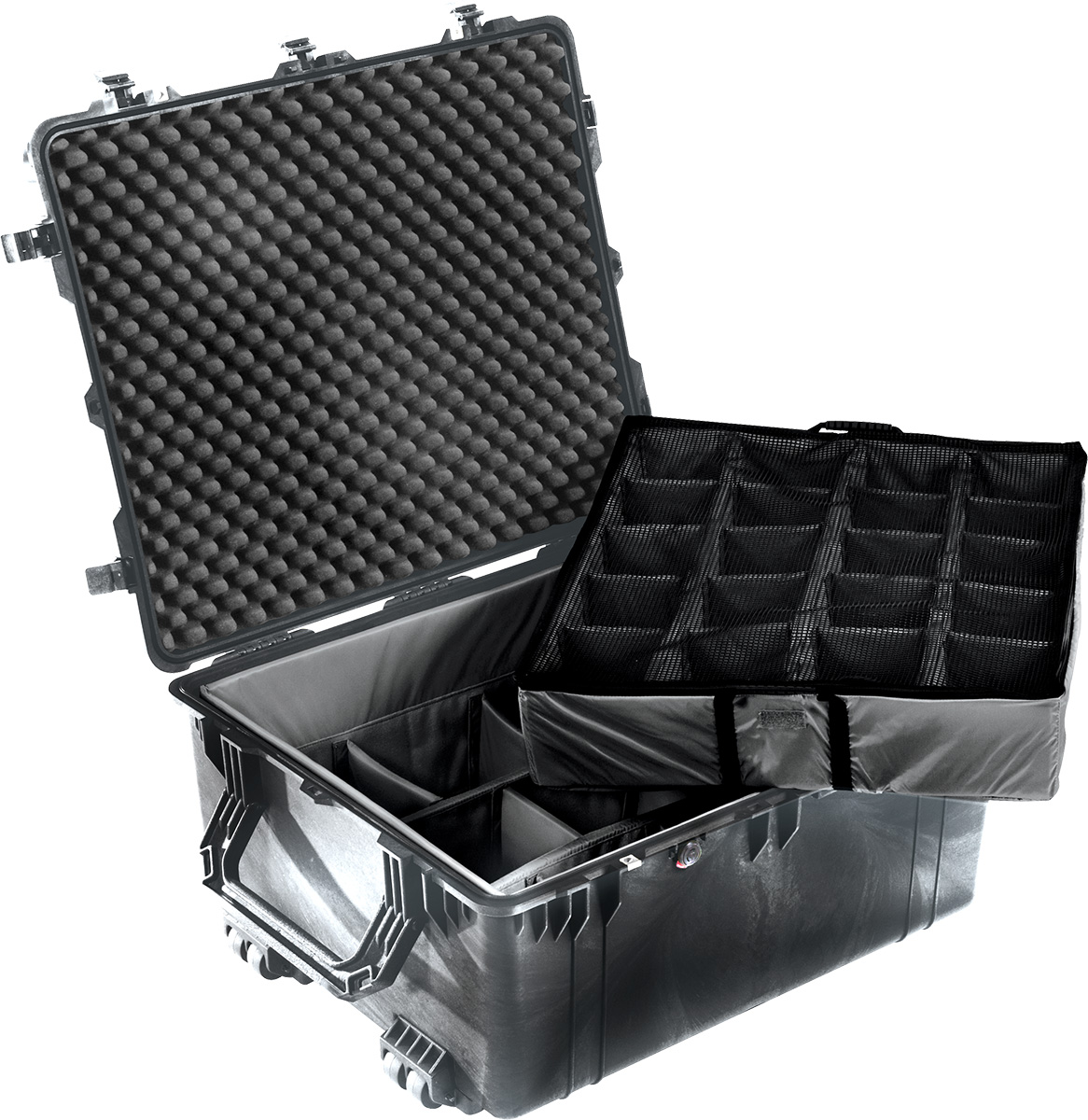 pelican 1690 1694 padded dividers rolling case