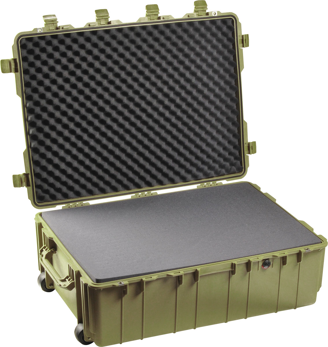 pelican 1730 hard military rolling transport case