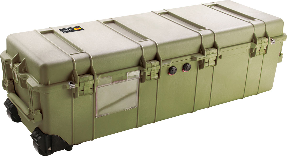pelican 1740 green rifle weapon case