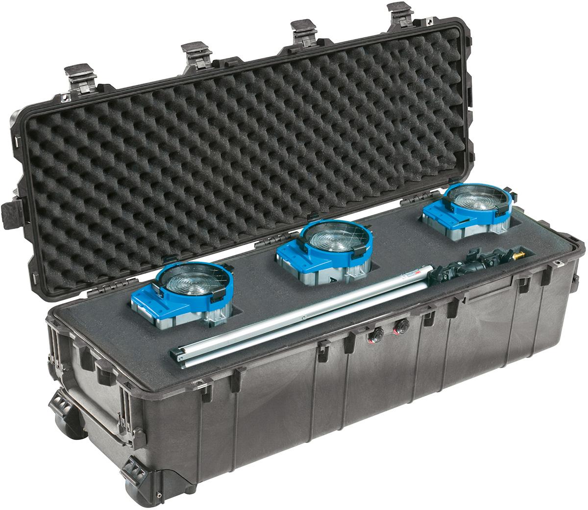 pelican movie set video lighting gear case