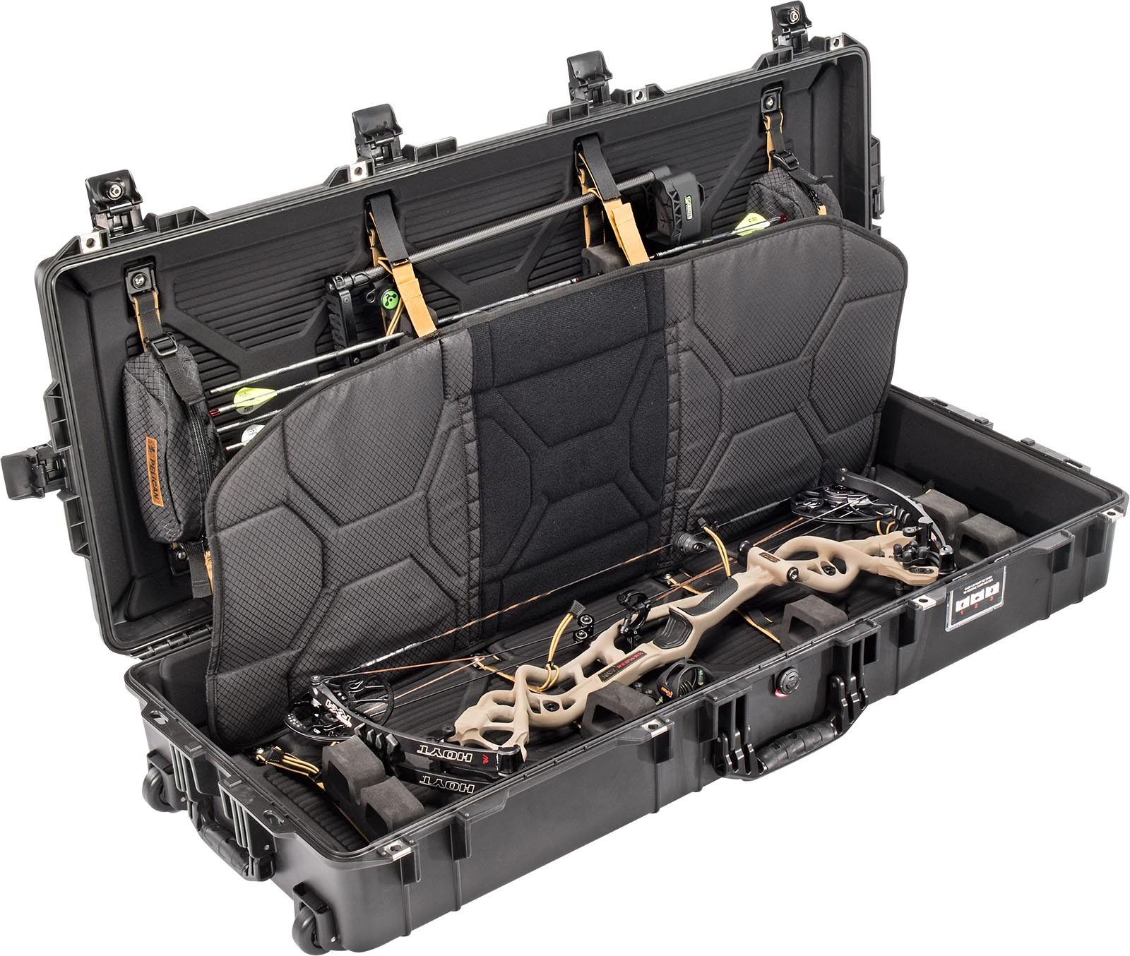 pelican air 1745bow hunting archery case