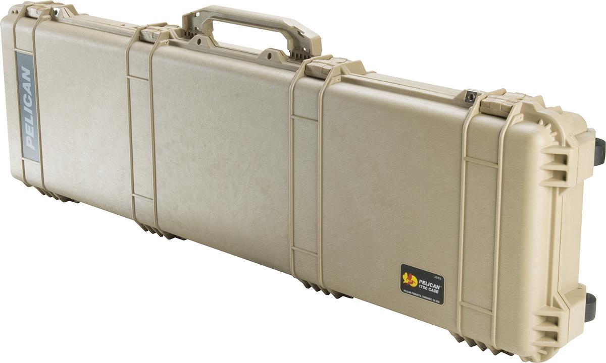pelican 1750 desert tan gun case