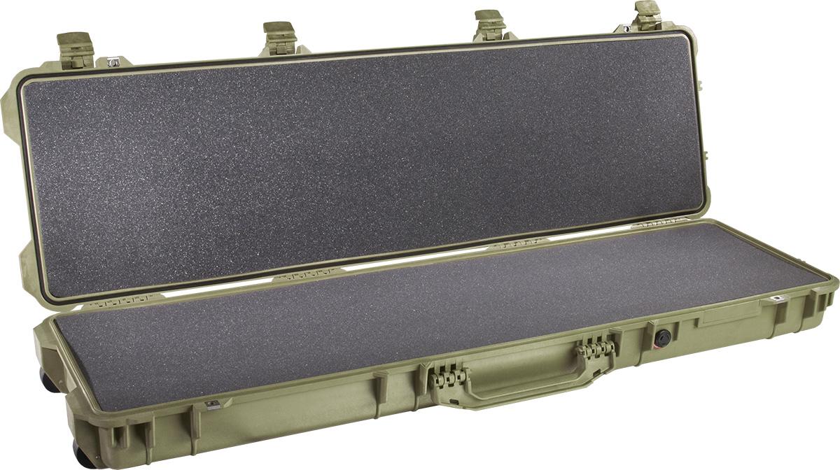 pelican 1750 foam green case