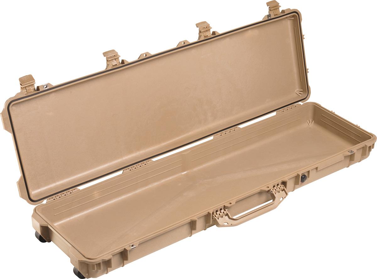 pelican 1750 tan shotgun case