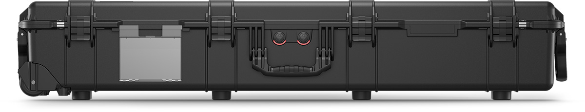 pelican protector 1770 black rifle weapon case