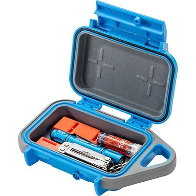 pelican blue tool flashlight g10 go case