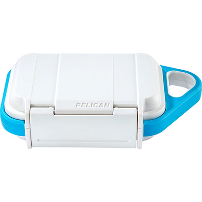 pelican white protective small go case