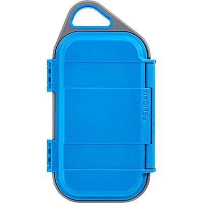 pelican g40 micro watertight storage case blue