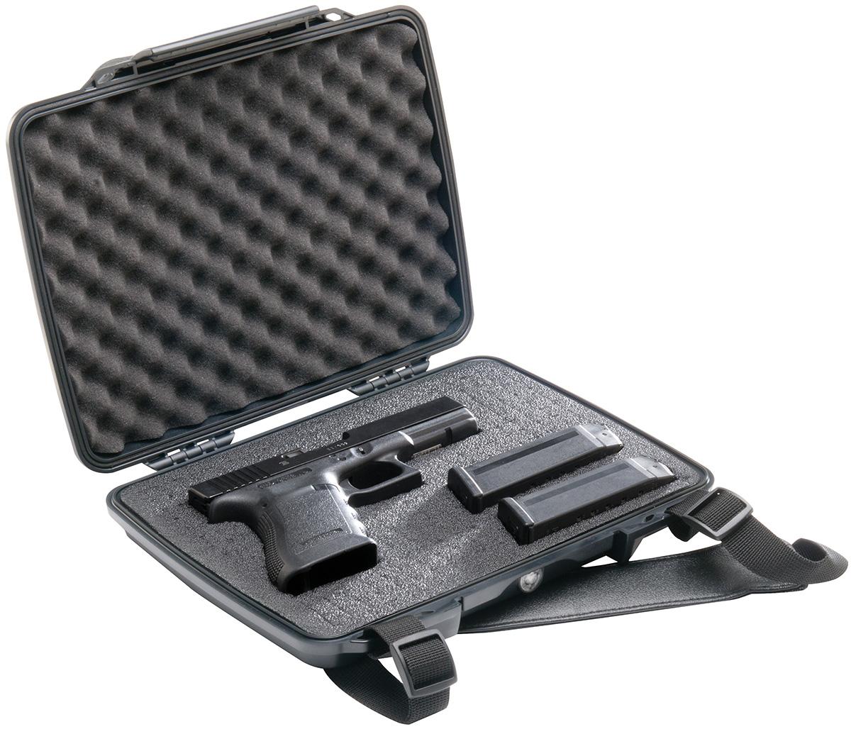pelican hard pistol gun waterproof case