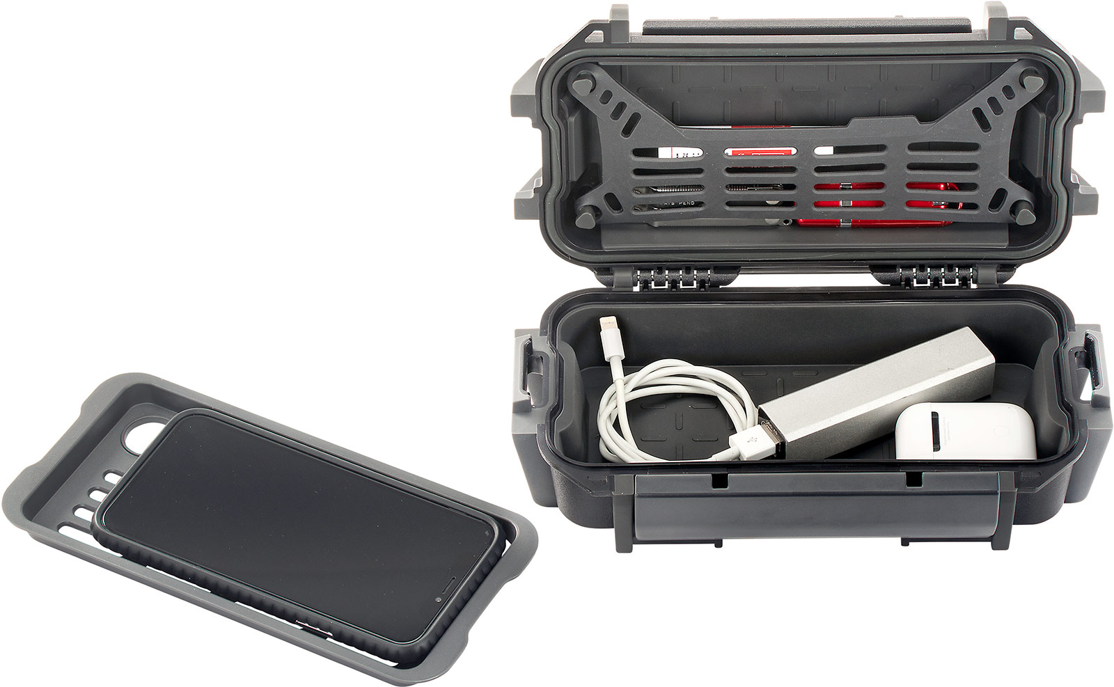 pelican r20 phone charger ruck case