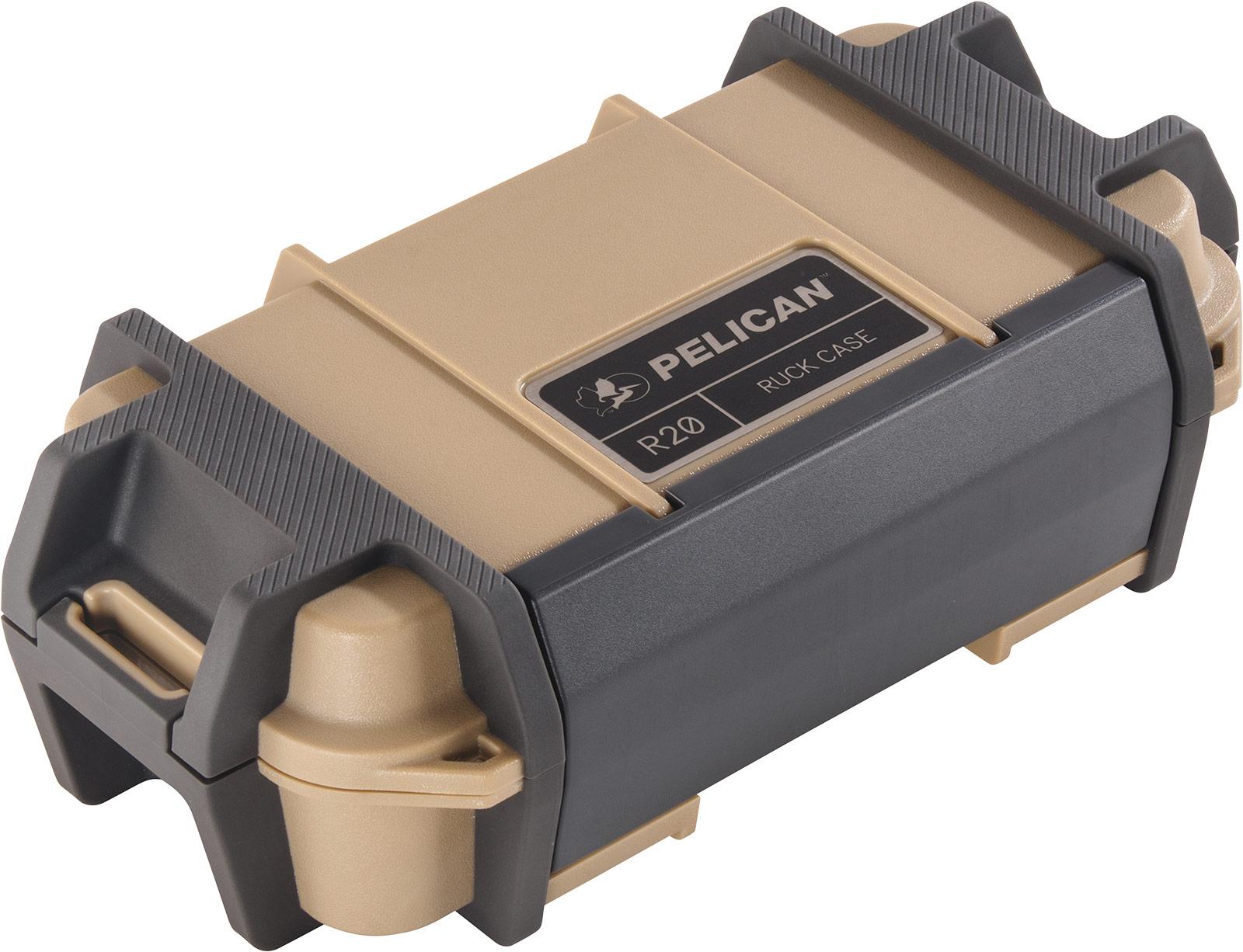 pelican r20 ruck tan watertight case
