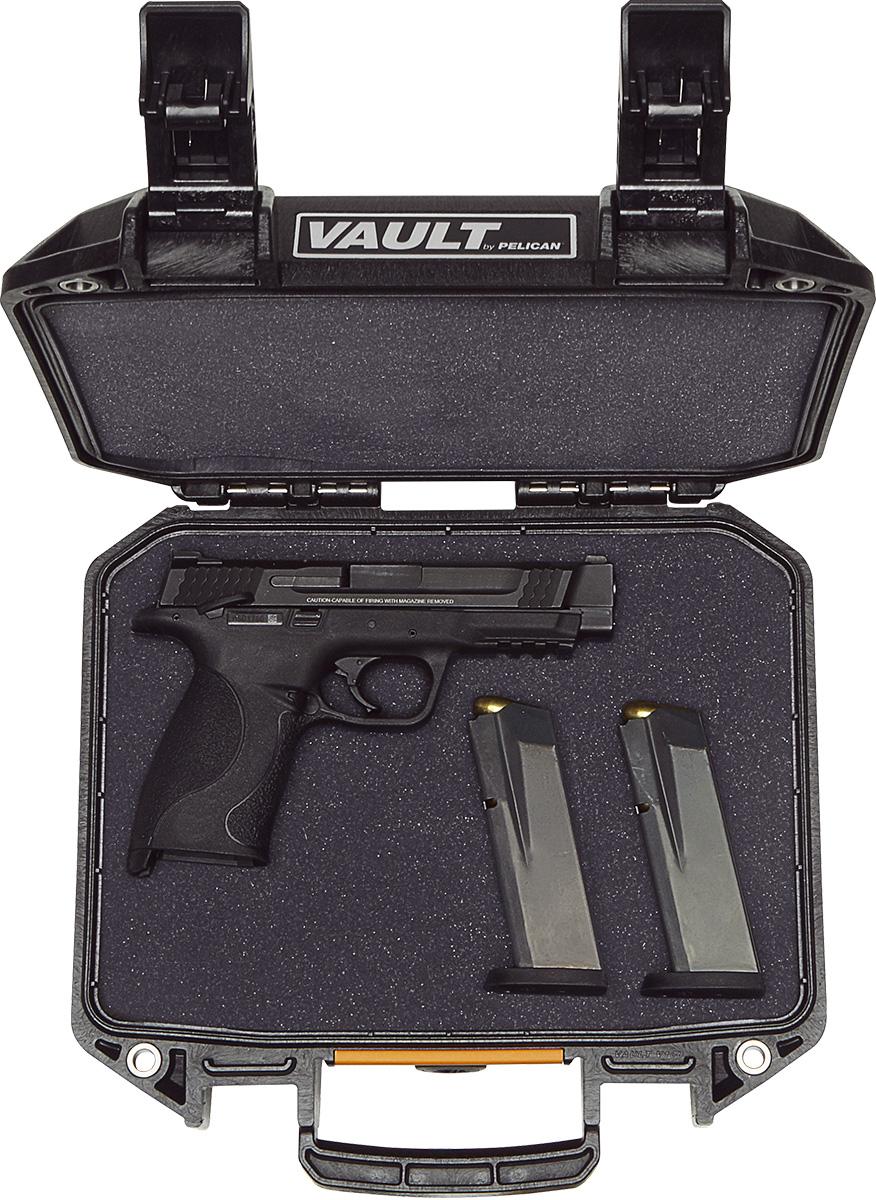 pelican gun cases v100 vault pistol case