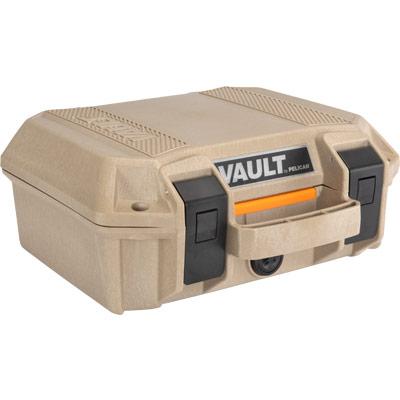 pelican vault v100 gun case tan pistol cases