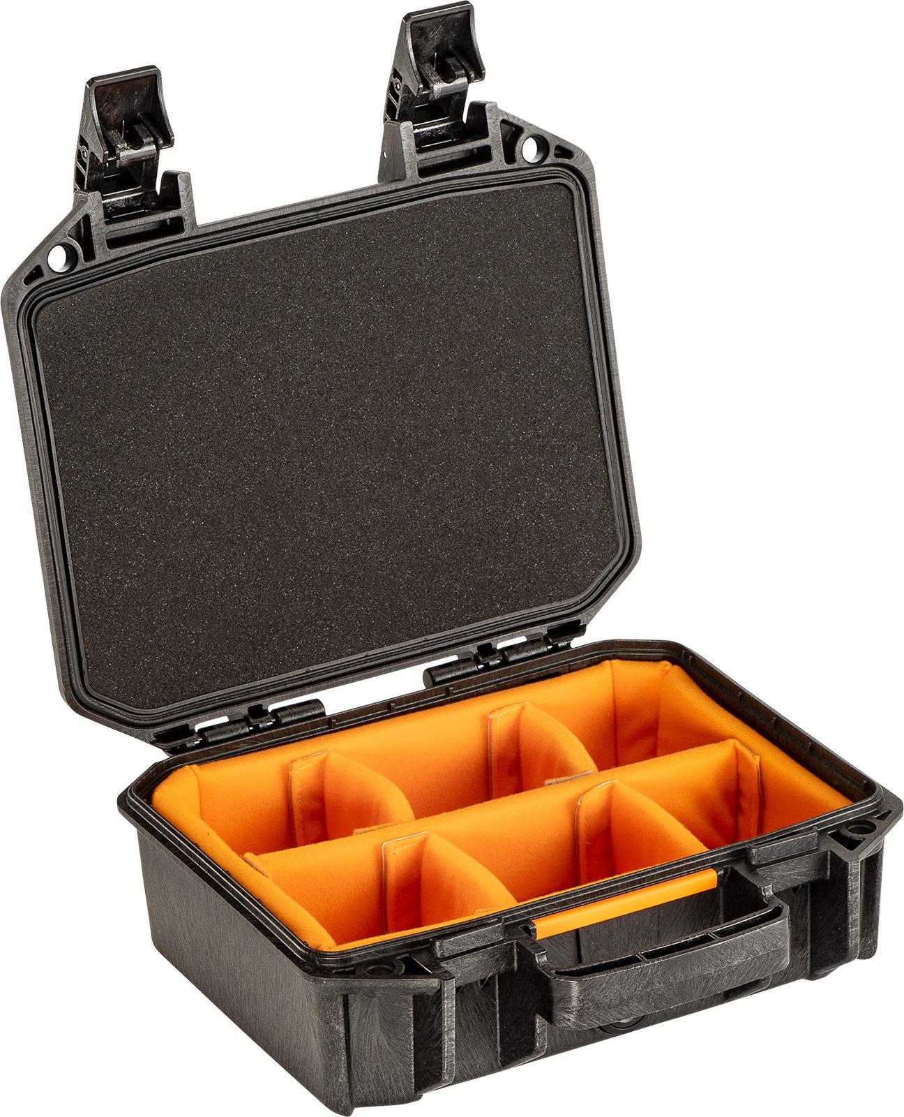 pelican vault v100 photo camera divider case