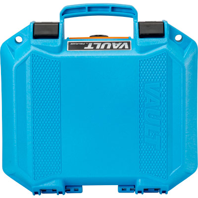 pelican blue case vualt series cases v100c